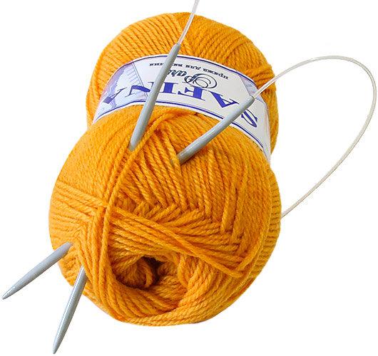 Спицы для вязания на леске