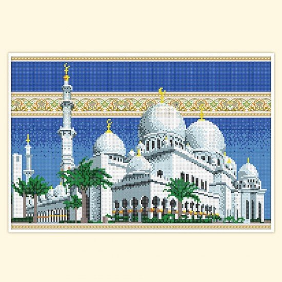 Мечеть шейха зайда вышивка